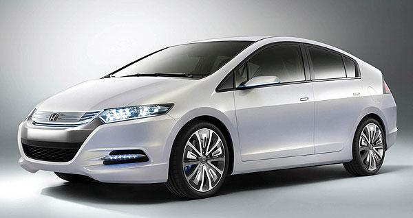Honda Puts Bets On Small Car Hybrids